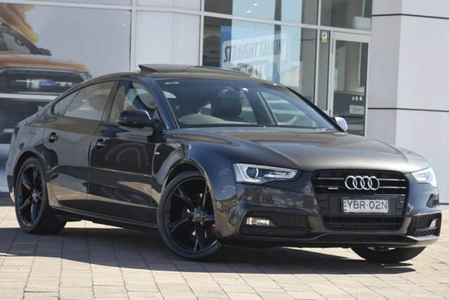 Discounted Used Audi A5 Sportback S Tronic Quattro, Warwick Farm, 2013 Audi A5 Sportback S Tronic Quattro Hatchback