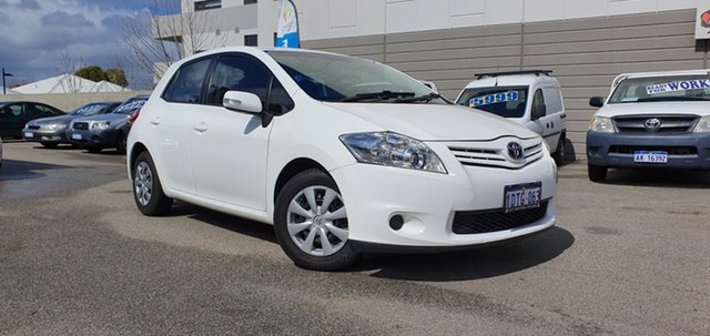 Discounted Used Toyota Corolla Ascent, Victoria Park, 2011 Toyota Corolla Ascent Hatchback