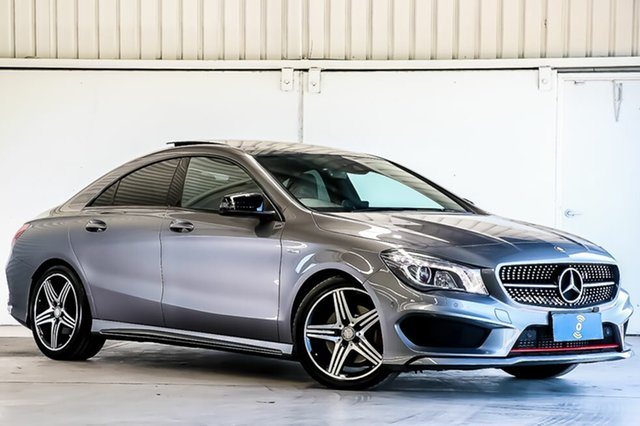 Used Mercedes-Benz CLA-Class CLA250 DCT 4MATIC Sport, Laverton North, 2016 Mercedes-Benz CLA-Class CLA250 DCT 4MATIC Sport Coupe