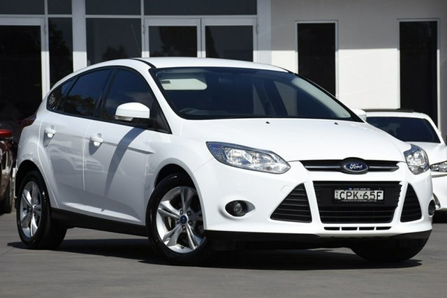Used Ford Focus Trend PwrShift, Narellan, 2013 Ford Focus Trend PwrShift Hatchback