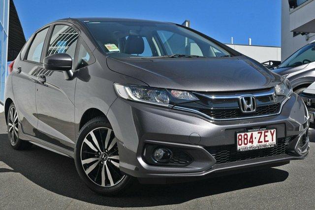 Demonstrator, Demo, Near New Honda Jazz VTi-L, Indooroopilly, 2019 Honda Jazz VTi-L Hatchback