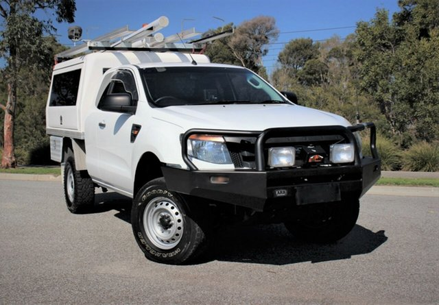 Used Ford Ranger XL Super Cab, Officer, 2012 Ford Ranger XL Super Cab Cab Chassis