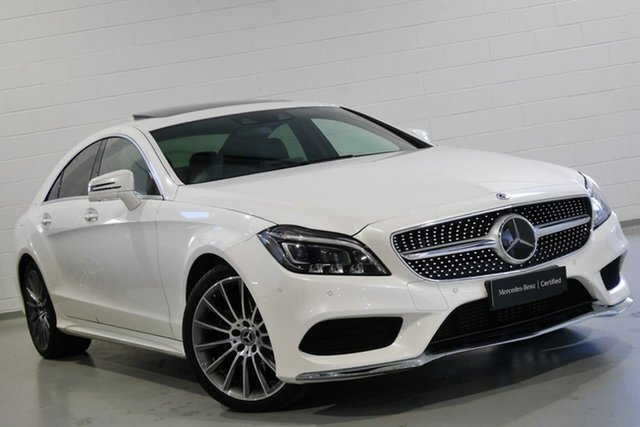 Used Mercedes-Benz CLS-Class CLS250 d Coupe 7G-Tronic +, Warwick Farm, 2017 Mercedes-Benz CLS-Class CLS250 d Coupe 7G-Tronic + Sedan
