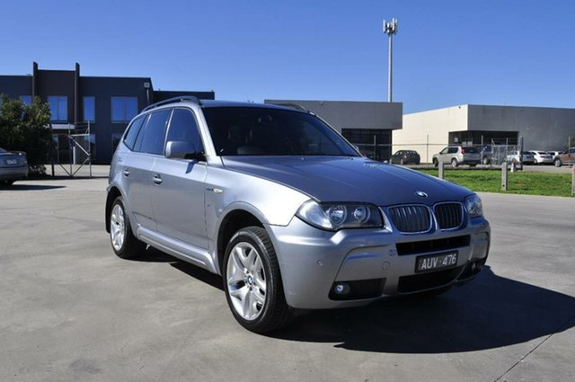 Used BMW X3 xDrive 30d Lifestyle, Hoppers Crossing, 2008 BMW X3 xDrive 30d Lifestyle Wagon