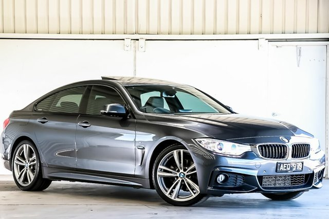 Used BMW 4 Series 420d Gran Coupe M Sport, Laverton North, 2015 BMW 4 Series 420d Gran Coupe M Sport Hatchback