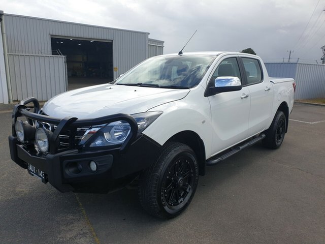Demonstrator, Demo, Near New Mazda BT-50, Warrnambool East, 2018 Mazda BT-50 Dual Cab