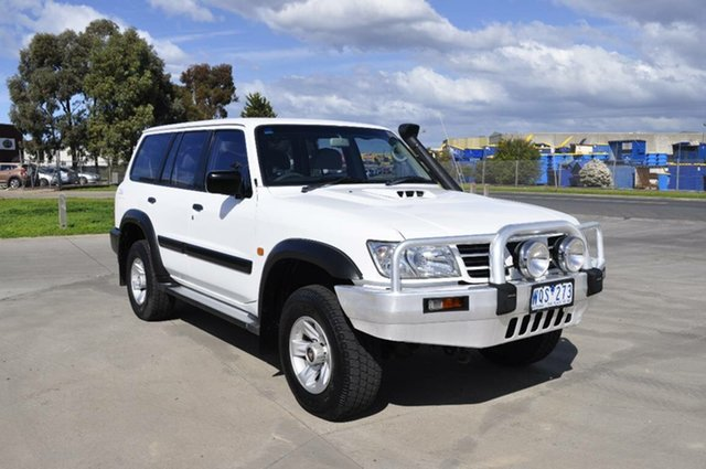 Used Nissan Patrol ST (4x4), Hoppers Crossing, 2003 Nissan Patrol ST (4x4) Wagon