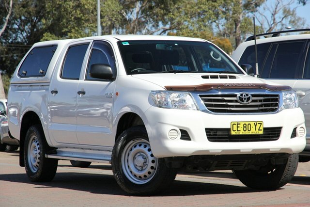 Used Toyota Hilux SR Double Cab, Narellan, 2015 Toyota Hilux SR Double Cab Utility