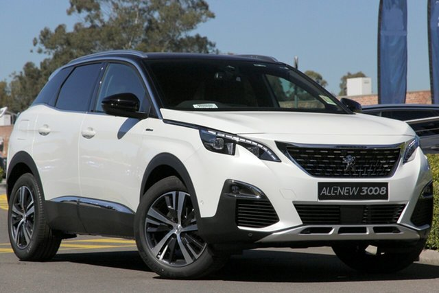 Discounted Demonstrator, Demo, Near New Peugeot 3008 GT Line SUV, Bowen Hills, 2020 Peugeot 3008 GT Line SUV Hatchback