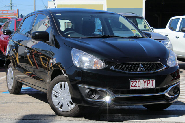 Demonstrator, Demo, Near New Mitsubishi Mirage ES, Bowen Hills, 2018 Mitsubishi Mirage ES Hatchback