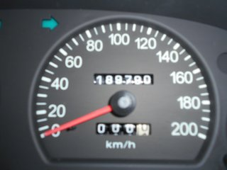 2005 Kia Carnival LS Wagon.