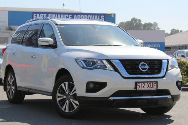 Used Nissan Pathfinder ST-L X-tronic 4WD, Toowong, 2017 Nissan Pathfinder ST-L X-tronic 4WD Wagon