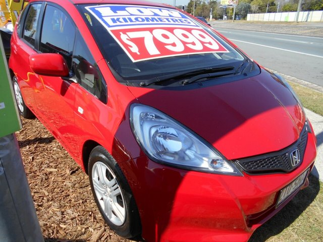 Used Honda Jazz GLi, Slacks Creek, 2012 Honda Jazz GLi Hatchback