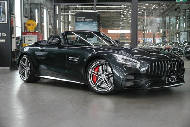 Used Mercedes-Benz AMG GT C SPEEDSHIFT DCT, North Melbourne, 2017 Mercedes-Benz AMG GT C SPEEDSHIFT DCT Roadster