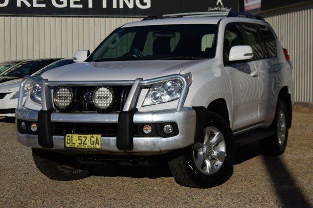 Used Toyota Landcruiser Prado GXL (4x4), Bathurst, 2011 Toyota Landcruiser Prado GXL (4x4) Wagon