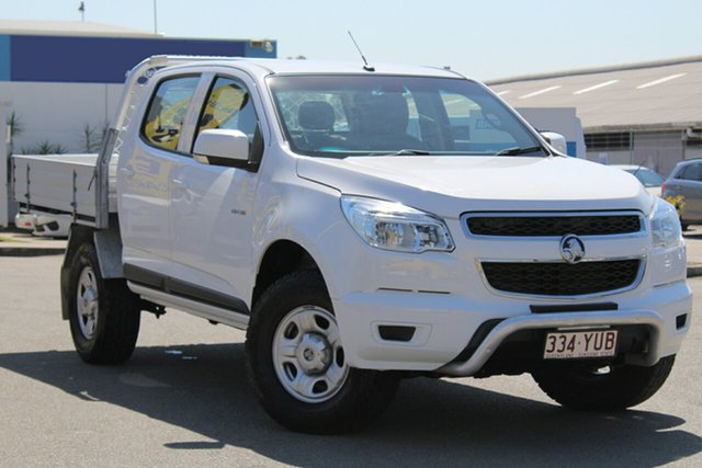 Used Holden Colorado LX Crew Cab, Bowen Hills, 2013 Holden Colorado LX Crew Cab Cab Chassis