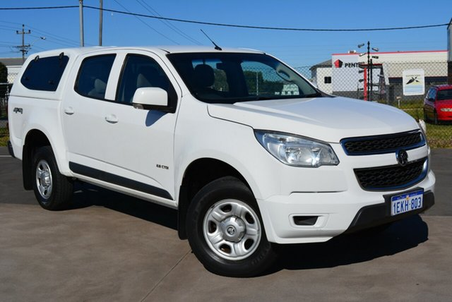 Used Holden Colorado LX (4x4), Kewdale, 2013 Holden Colorado LX (4x4) Crew Cab P/Up