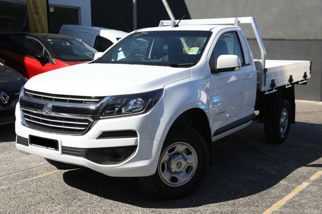 Demonstrator, Demo, Near New Holden Colorado LS 4x2, Brookvale, 2018 Holden Colorado LS 4x2 Cab Chassis
