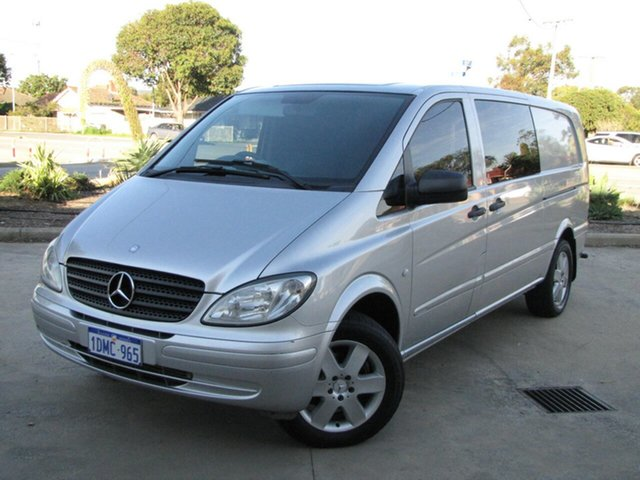 Used Mercedes-Benz Vito 111CDI Low Roof Extra Long, Maddington, 2010 Mercedes-Benz Vito 111CDI Low Roof Extra Long Van