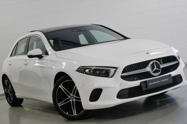 Used Mercedes-Benz A-Class A200 DCT, Chatswood, 2018 Mercedes-Benz A-Class A200 DCT Hatchback