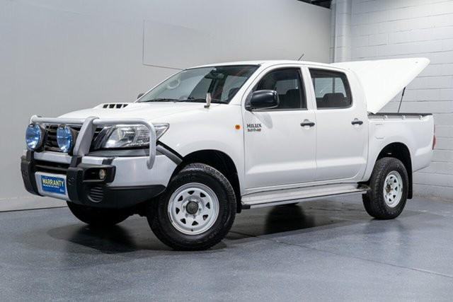Used Toyota Hilux SR (4x4), Slacks Creek, 2012 Toyota Hilux SR (4x4) Dual Cab Pick-up