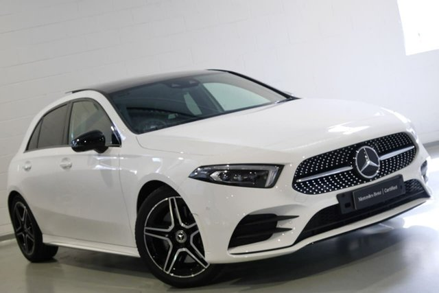 Used Mercedes-Benz A-Class A250 DCT, Chatswood, 2019 Mercedes-Benz A-Class A250 DCT Hatchback
