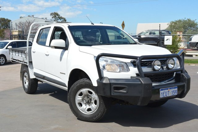 Used Holden Colorado LS (4x2), Kewdale, 2015 Holden Colorado LS (4x2) Crew Cab Chassis