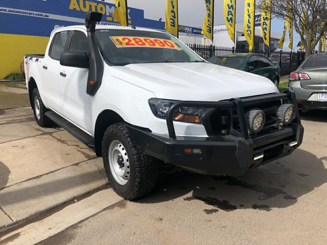 Used Ford Ranger XL Double Cab, Cranbourne, 2017 Ford Ranger XL Double Cab Utility