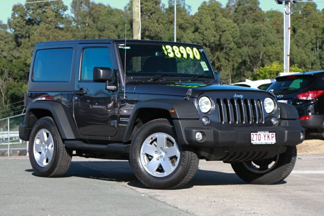 Used Jeep Wrangler Sport, Indooroopilly, 2017 Jeep Wrangler Sport Softtop