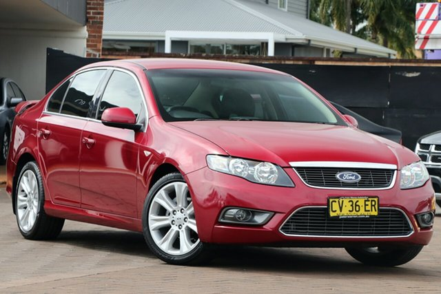 Discounted Used Ford Falcon G6, Warwick Farm, 2009 Ford Falcon G6 Sedan