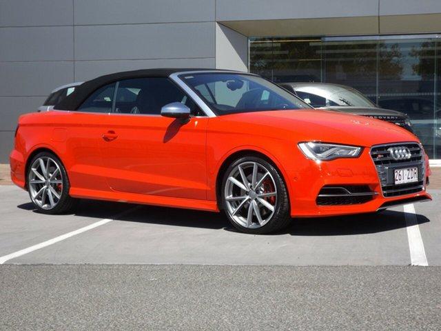 Discounted Used Audi S3 S Tronic Quattro, Toowoomba, 2014 Audi S3 S Tronic Quattro Cabriolet
