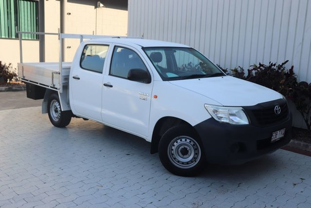 Used Toyota Hilux Workmate Double Cab 4x2, Cairns, 2014 Toyota Hilux Workmate Double Cab 4x2 Utility