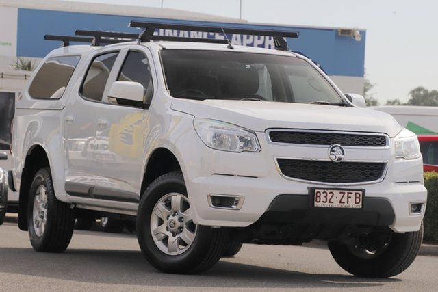 Used Holden Colorado LT Crew Cab 4x2, Bowen Hills, 2016 Holden Colorado LT Crew Cab 4x2 Utility