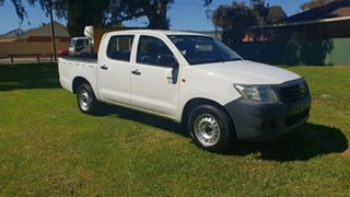 2011 Toyota Hilux Workmate Dual Cab Pick-up.