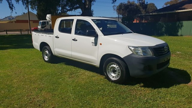Used Toyota Hilux Workmate, Melrose Park, 2011 Toyota Hilux Workmate Dual Cab Pick-up
