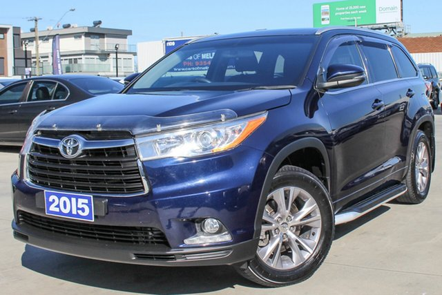 Used Toyota Kluger GXL AWD, Coburg North, 2015 Toyota Kluger GXL AWD Wagon