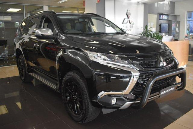 Demonstrator, Demo, Near New Mitsubishi Pajero Sport Black Edition, Nailsworth, 2018 Mitsubishi Pajero Sport Black Edition Wagon