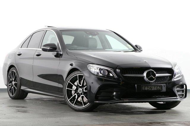 Demonstrator, Demo, Near New Mercedes-Benz C-Class C300 9G-Tronic, Warwick Farm, 2019 Mercedes-Benz C-Class C300 9G-Tronic Sedan