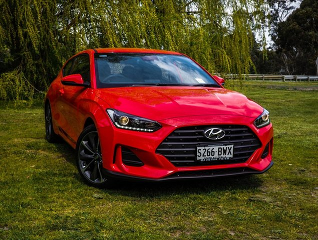 Demonstrator, Demo, Near New Hyundai Veloster Coupe, Cheltenham, 2019 Hyundai Veloster Coupe Hatchback
