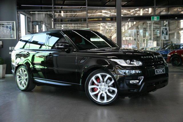 Used Land Rover Range Rover Sport SDV8 CommandShift HSE Dynamic, North Melbourne, 2014 Land Rover Range Rover Sport SDV8 CommandShift HSE Dynamic Wagon