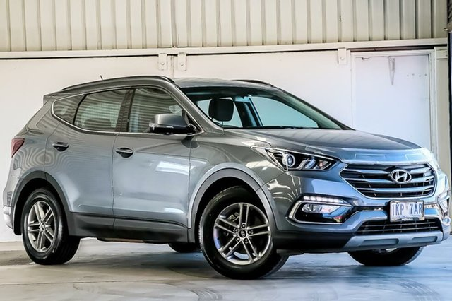 Used Hyundai Santa Fe Active, Laverton North, 2017 Hyundai Santa Fe Active Wagon