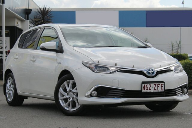 Used Toyota Corolla Hybrid E-CVT, Bowen Hills, 2016 Toyota Corolla Hybrid E-CVT Hatchback