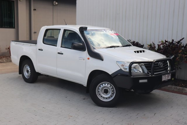 Used Toyota Hilux SR Double Cab 4x2, Cairns, 2012 Toyota Hilux SR Double Cab 4x2 Utility
