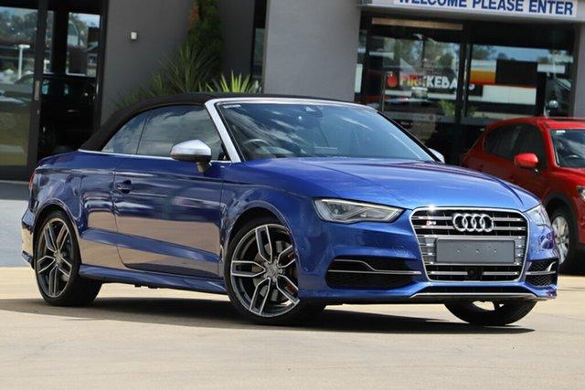 Used Audi S3 S Tronic Quattro, Indooroopilly, 2014 Audi S3 S Tronic Quattro Cabriolet