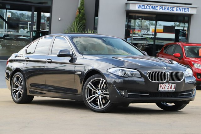 Used BMW 5 Series 520d Steptronic, Indooroopilly, 2010 BMW 5 Series 520d Steptronic Sedan