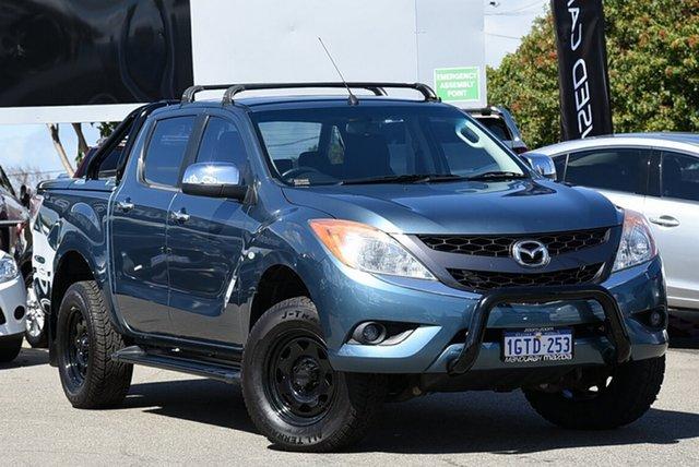 Used Mazda BT-50 XTR (4x4), Mandurah, 2012 Mazda BT-50 XTR (4x4) Dual Cab Utility