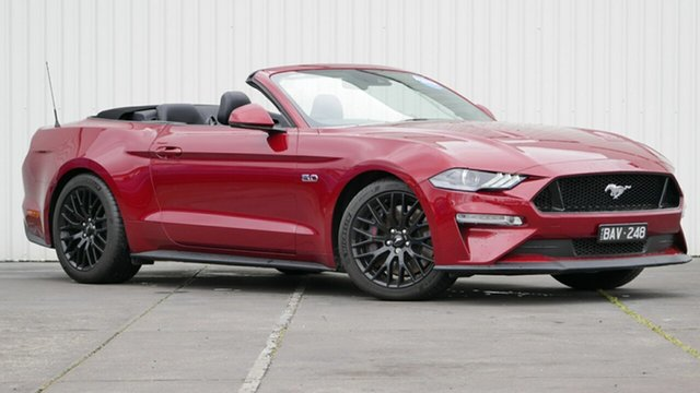 Used Ford Mustang GT 5.0 V8, Sebastopol, 2018 Ford Mustang GT 5.0 V8 Convertible