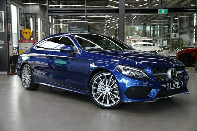 Used Mercedes-Benz C-Class C250 d 9G-Tronic, North Melbourne, 2016 Mercedes-Benz C-Class C250 d 9G-Tronic Coupe