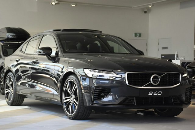 Discounted Demonstrator, Demo, Near New Volvo S60 T8 Geartronic AWD R-Design, Warwick Farm, 2019 Volvo S60 T8 Geartronic AWD R-Design Sedan
