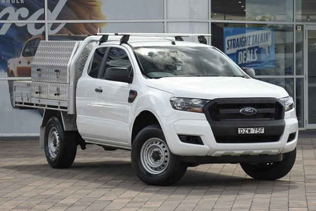 Discounted Used Ford Ranger XL Super Cab, Warwick Farm, 2018 Ford Ranger XL Super Cab Cab Chassis